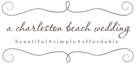 A Charleston Beach Wedding Logo